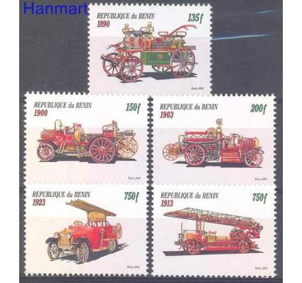 Znaczek Benin 2001 Mi 1332,LII,LIII,LIV,LV Czyste **