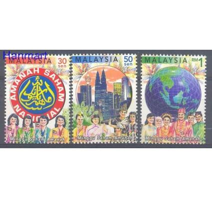 Znaczek Malezja 2000 Mi 891-893 Czyste **