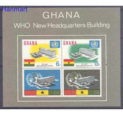 Znaczek Ghana 1966 Mi bl 20 Czyste **