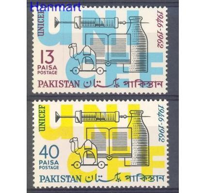 Znaczek Pakistan 1962 Mi 175-176 Czyste **
