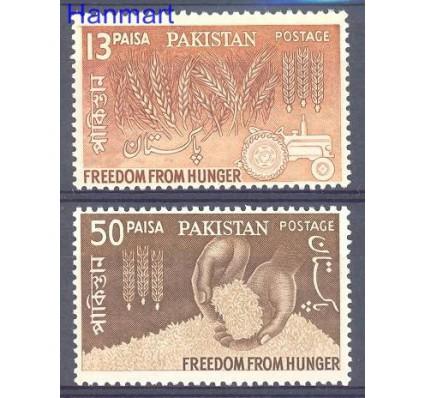Znaczek Pakistan 1963 Mi 190-191 Czyste **