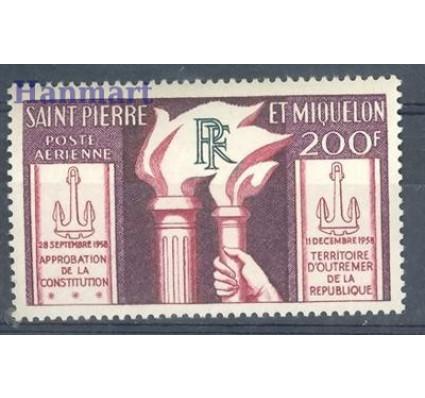 Saint-Pierre i Miquelon 1959 Mi 392 Czyste **