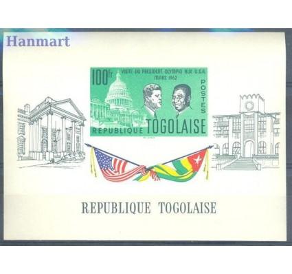 Znaczek Togo 1962 Mi bl 9 Czyste **