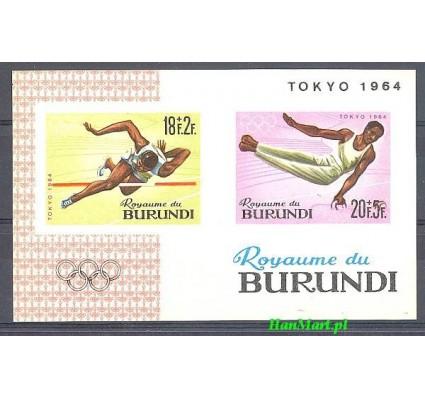 Znaczek Burundi 1964 Mi bl5B Czyste **