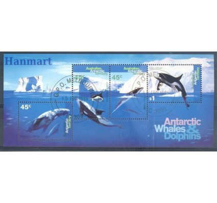 Znaczek Australijskie Terytorium Antarktyczne 1995 Mi bl 1 Stemplowane