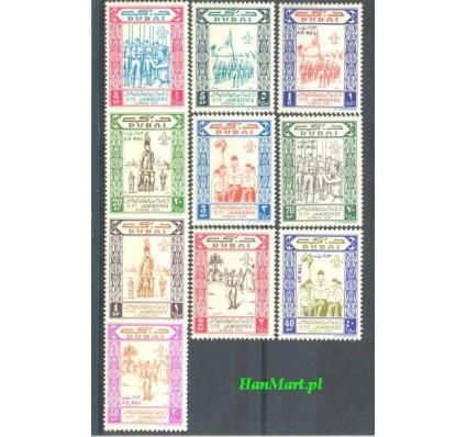 Znaczek Dubaj 1964 Mi 58-67 Czyste **