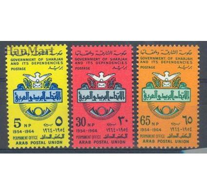 Znaczek Sharjah 1965 Mi 146-148 Czyste **