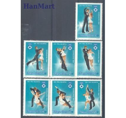 Znaczek Węgry 1983 Mi 3652-3658 Czyste **
