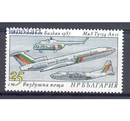 Znaczek Bułgaria 1987 Mi 3595 Czyste **