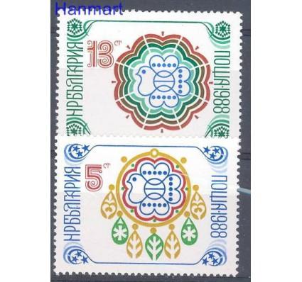 Znaczek Bułgaria 1987 Mi 3622-3623 Czyste **