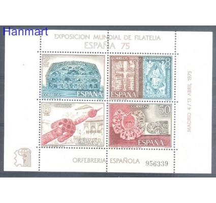 Znaczek Hiszpania 1975 Mi bl 19 Czyste **