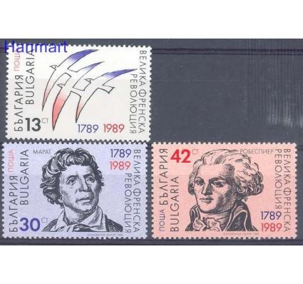 Znaczek Bułgaria 1989 Mi 3764-3766 Czyste **