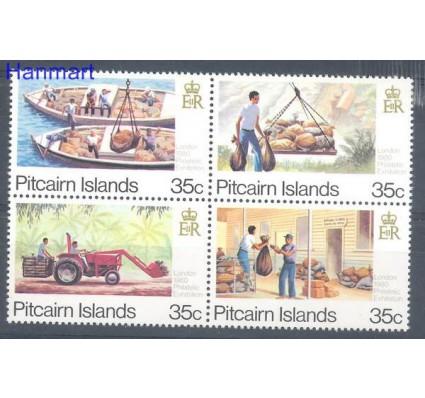 Znaczek Pitcairn 1980 Mi 192-195 Czyste **