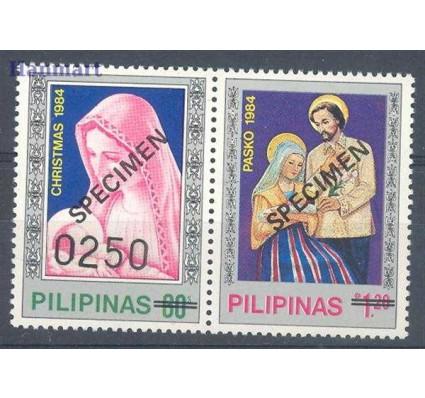 Znaczek Filipiny 1984 Mi 1637-1638 Czyste **