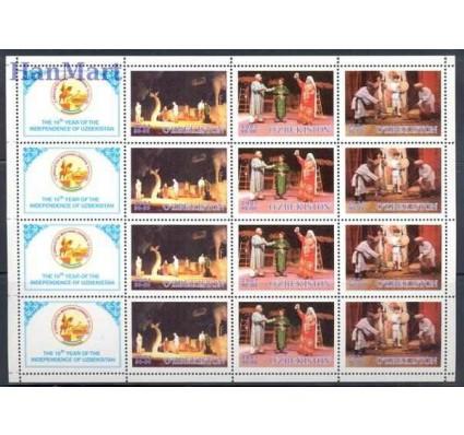 Znaczek Uzbekistan 2001 Mi 393-395 Czyste **