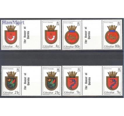 Znaczek Gibraltar 1985 Mi 493-496 Czyste **
