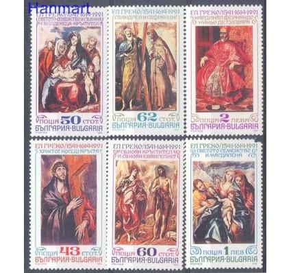 Znaczek Bułgaria 1991 Mi 3944-3949 Czyste **