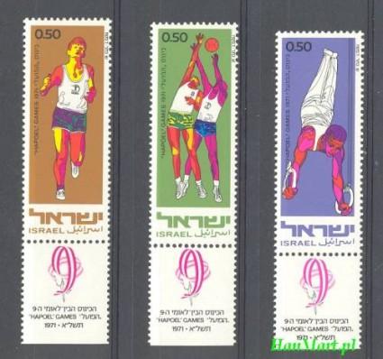 Znaczek Izrael 1971 Mi 511-513 Czyste **