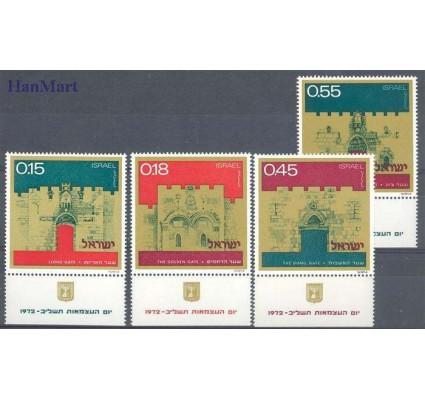 Izrael 1972 Mi 552-555 Czyste **