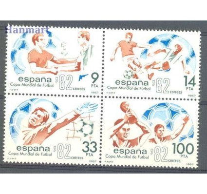 Znaczek Hiszpania 1982 Mi 2548-2551 Czyste **
