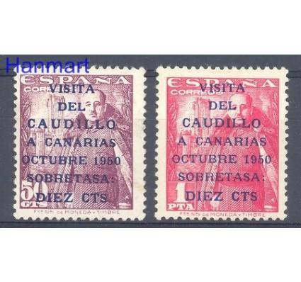 Znaczek Hiszpania 1950 Mi 985-986 Czyste **