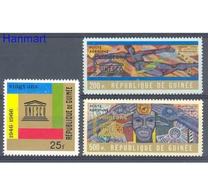 Znaczek Gwinea 1966 Mi 365-367 Czyste **