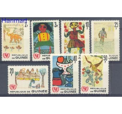 Znaczek Gwinea 1966 Mi 402-408 Czyste **