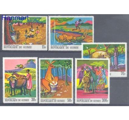 Znaczek Gwinea 1968 Mi 487-492 Czyste **