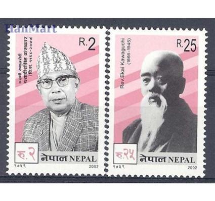 Znaczek Nepal 2002 Mi 759-760 Czyste **