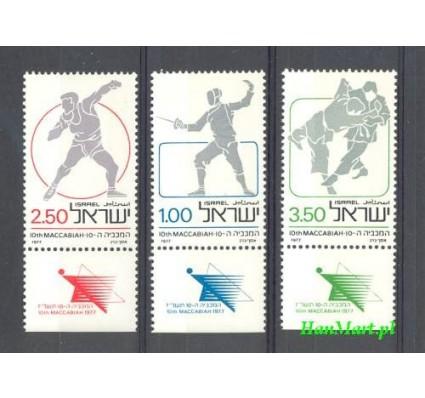Znaczek Izrael 1977 Mi 704-706 Czyste **