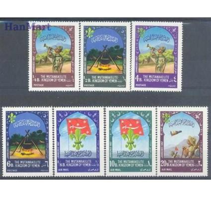 Znaczek Jemen Królestwo 1967 Mi 365-371 Czyste **