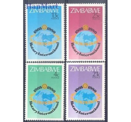 Znaczek Zimbabwe 1980 Mi 242-245 Czyste **
