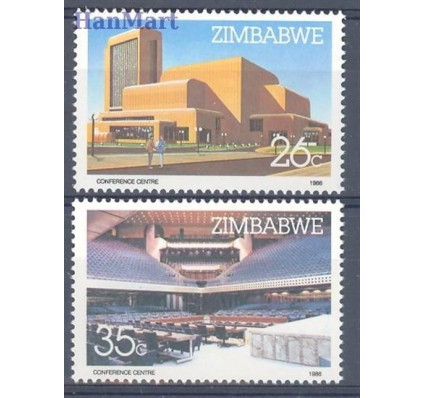 Znaczek Zimbabwe 1986 Mi 338-339 Czyste **