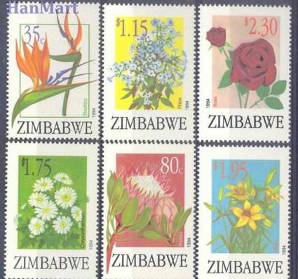 Znaczek Zimbabwe 1994 Mi 526-531 Czyste **