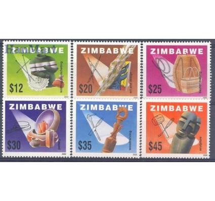 Znaczek Zimbabwe 2002 Mi 722-727 Czyste **