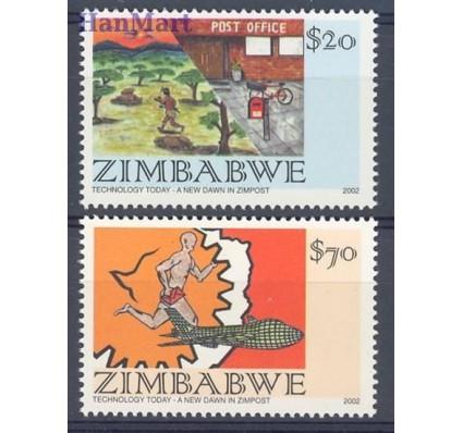 Znaczek Zimbabwe 2002 Mi 740-741 Czyste **