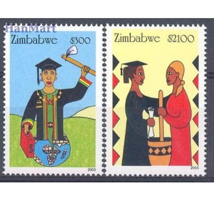 Znaczek Zimbabwe 2003 Mi 766-767 Czyste **