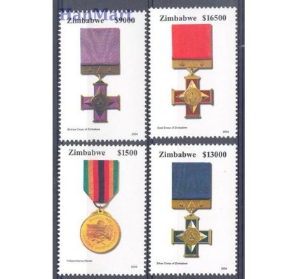 Znaczek Zimbabwe 2004 Mi 778-781 Czyste **