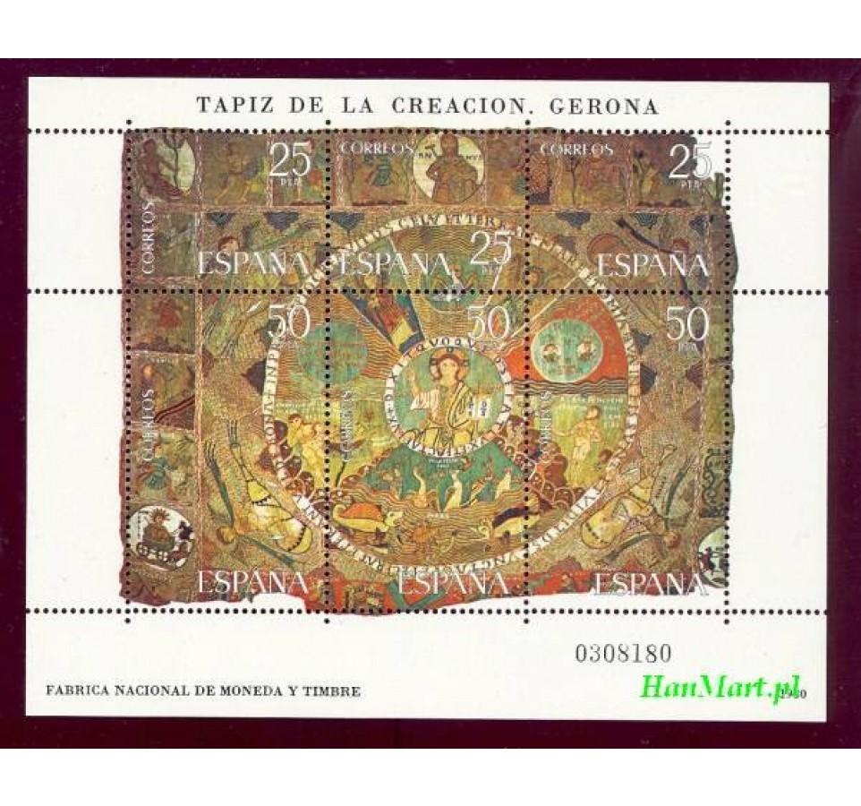 Hiszpania 1980 Mi bl 22 Czyste **