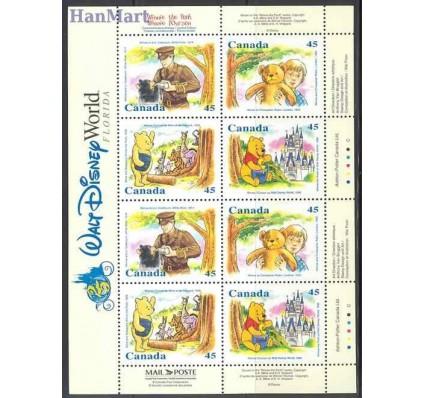 Znaczek Kanada 1996 Mi ark 1596-1599 Czyste **