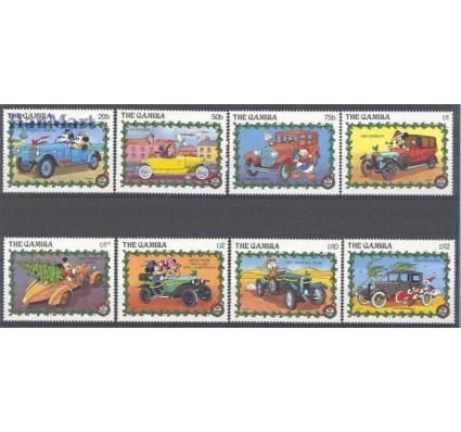 Znaczek Gambia 1989 Mi 935-942 Czyste **