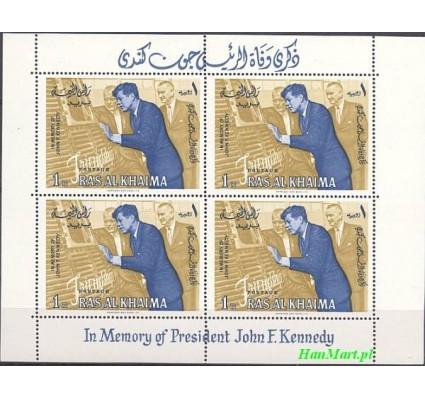 Ras Al Khaima 1965 Mi bl 2 Czyste **
