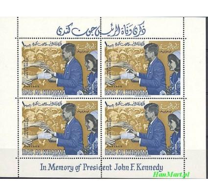 Znaczek Ras Al Khaima 1965 Mi bl 3 Czyste **