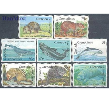 Znaczek Grenada i Grenadyny 1990 Mi 1267-1274 Czyste **