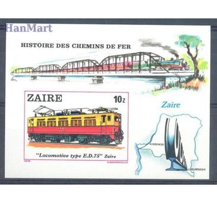 Znaczek Kongo Kinszasa / Zair 1980 Mi bl 31B Czyste **