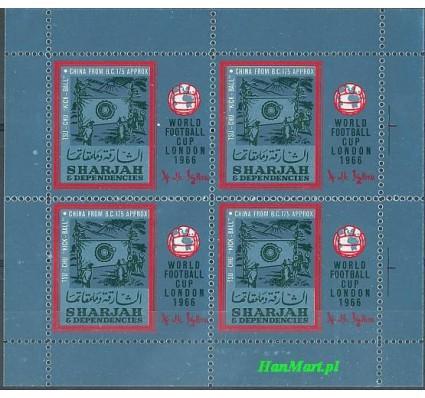 Sharjah 1966 Mi bl 22 Czyste **