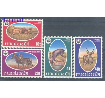 Znaczek Malawi 1978 Mi 297-300 Czyste **