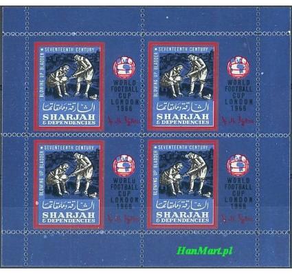 Sharjah 1966 Mi bl 24 Czyste **