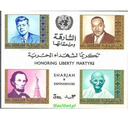 Znaczek Sharjah 1968 Mi bl 39 Czyste **