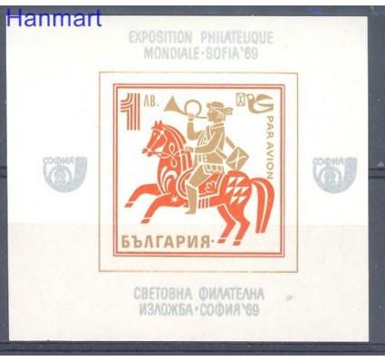 Znaczek Bułgaria 1969 Mi bl 24 Czyste **